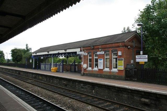 View of Platform 1