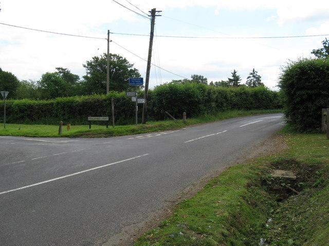 High Street Green junction with Pickhurst Road