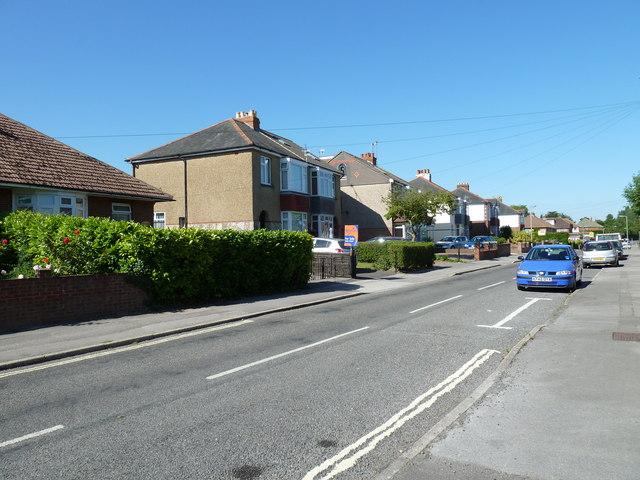 Houses in Aldermoor Road