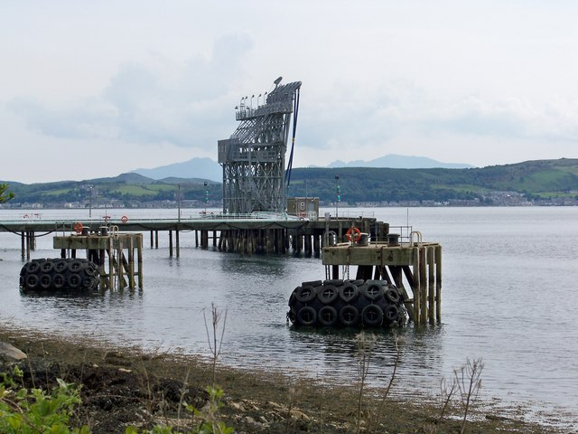 Loch Striven NATO POL Jetty
