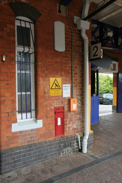 Postbox on Platform two