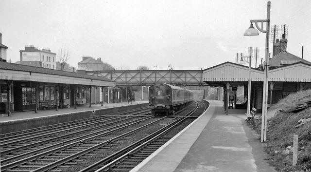 Brockley Station