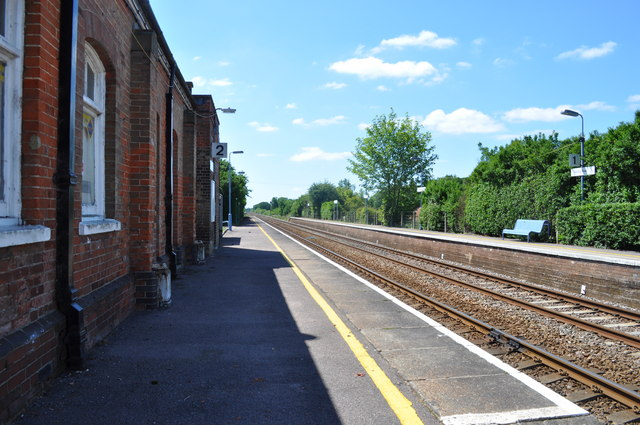 Harling Road Railway Station