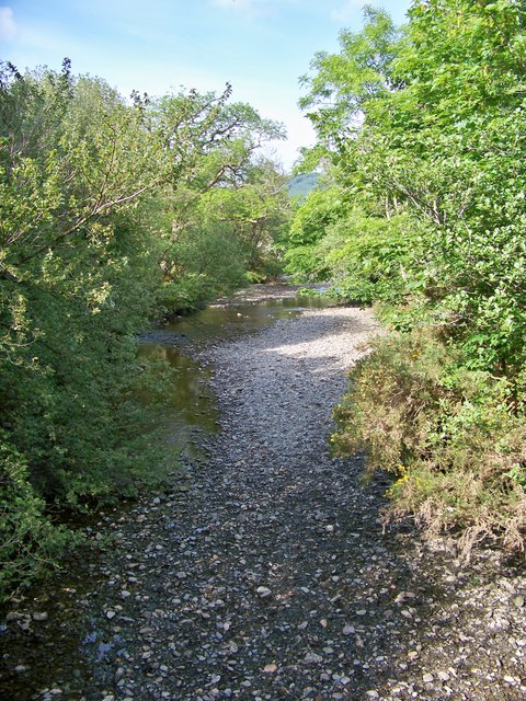 Ardyne Burn - Upstream View