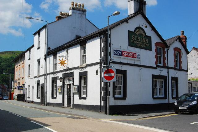 The Sun Inn Llangollen