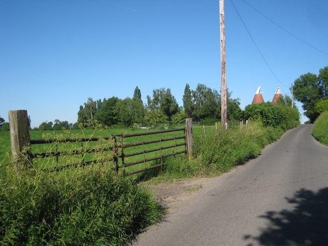 Gate on Redmans Lane