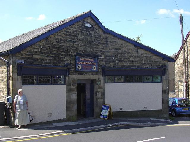 """Rawtenstall Conservative Club"" Grange Crescent, Rawtenstall, Rossendale, Lancashire BB4 7QT"