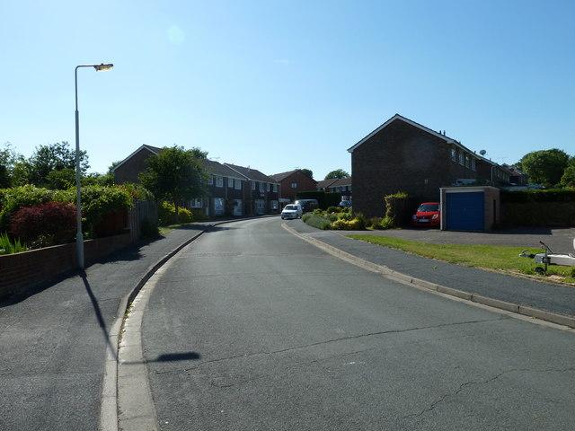 Lamppost in Crofton Close