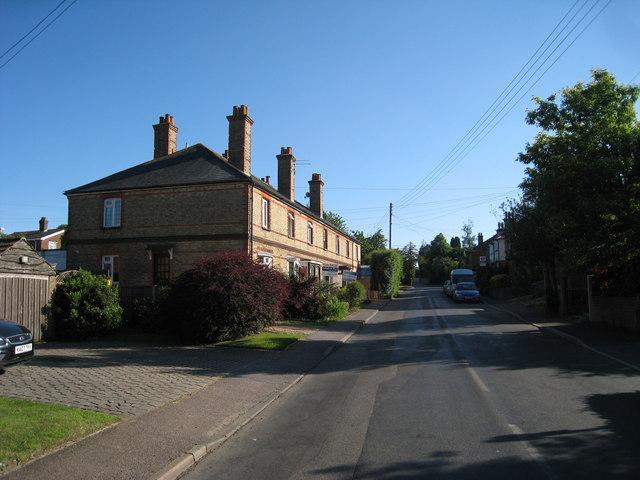 Houses on Knockholt Road