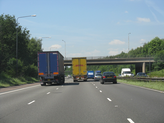 M62 Motorway - A574 overbridge