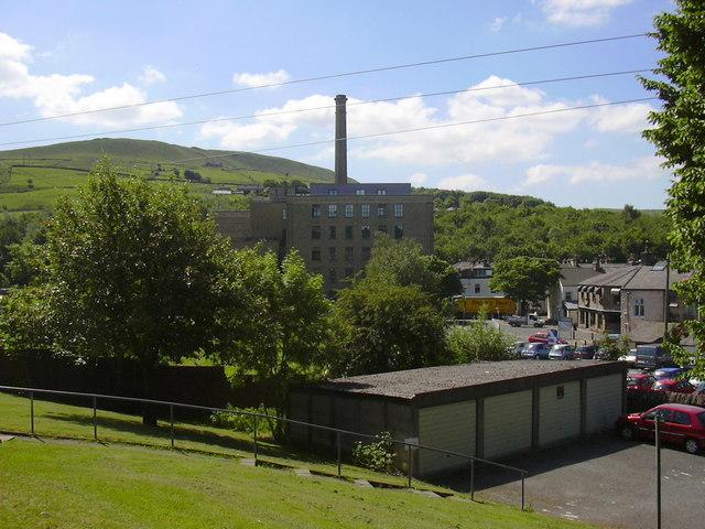 Ilex Mill, Bacup Road