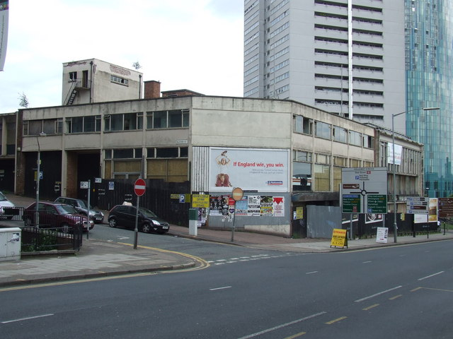 Disused showroom, Holloway Head, Birmingham