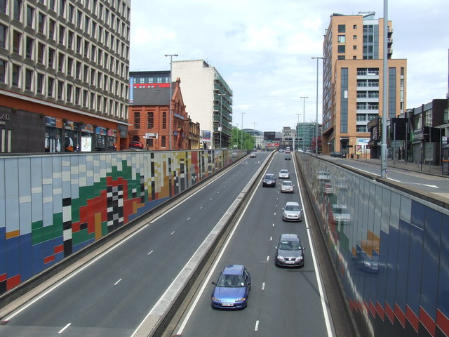 Suffolk Street Queensway (A38), Birmingham
