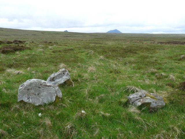 Four poster stone circle near Achnaclyth