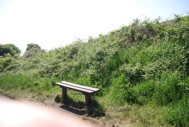 Bench by the old railway