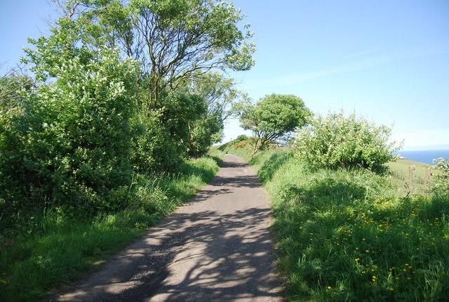 Old railway line near Bay Ness