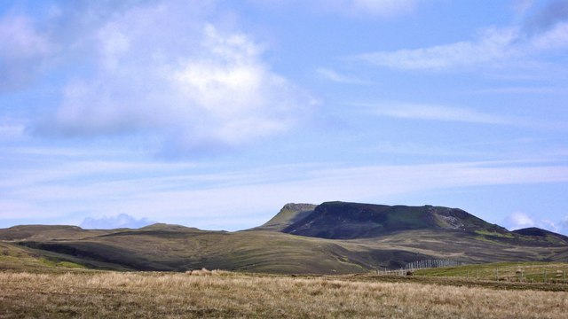 Moorland hills towards the east of  Raasay