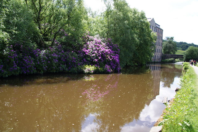 Reflections in the Rochdale Canal