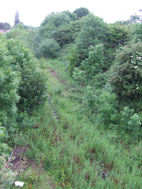 Disused railway, Dudley
