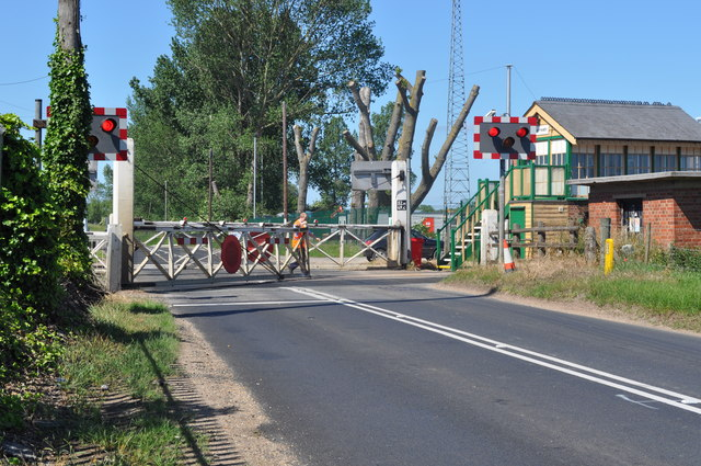 Hand Operated Crossing at Lakenheath Crossing