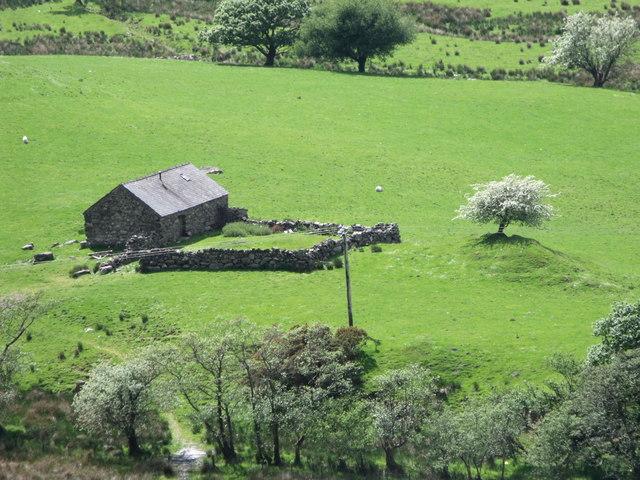 Farm building in the Glaslyn Valley, Gwynedd