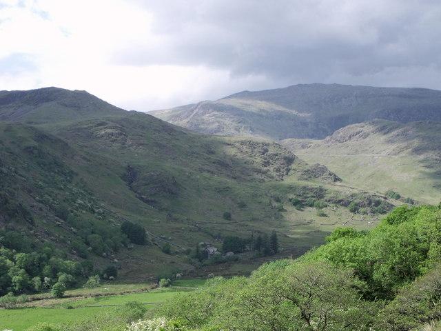 Looking towards Snowdon range