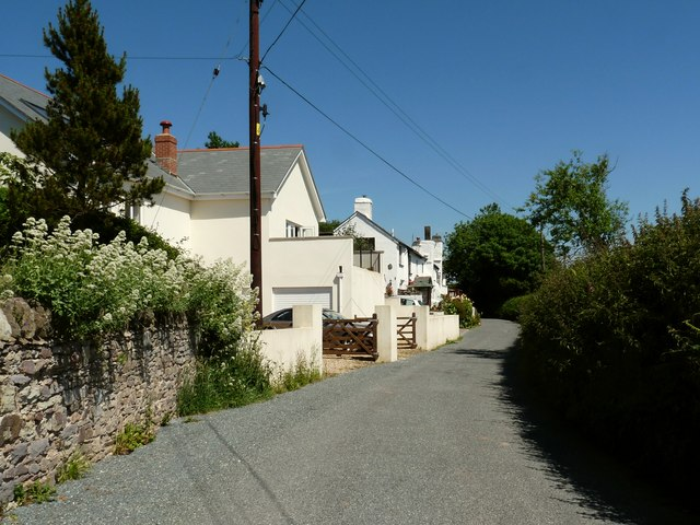 Cottages in North Buckland