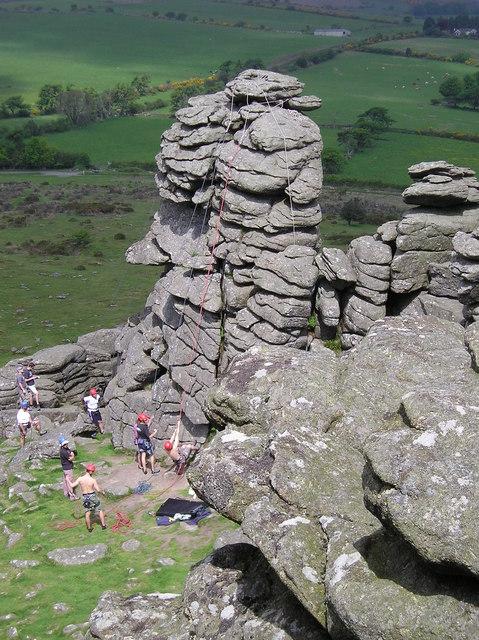 Climbers, Hound Tor