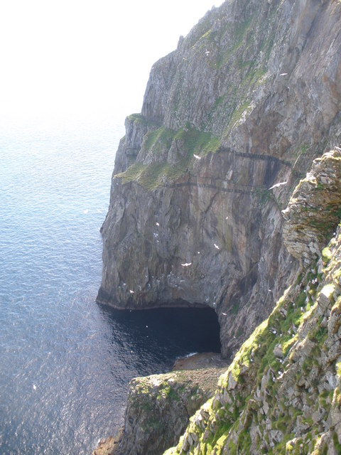 Cliffs at Am Broig