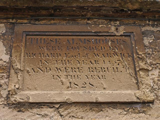 Warwick Almshouses, Burford