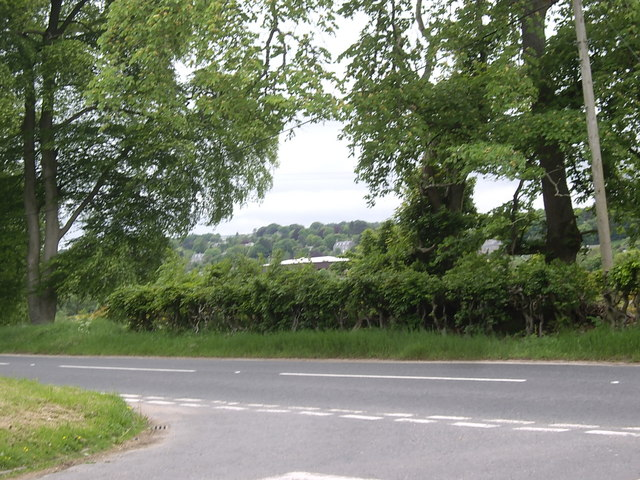View towards Cults from Banchory Devenick junction