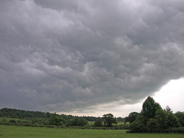 Storm Clouds, Bourton-On-The-Hill