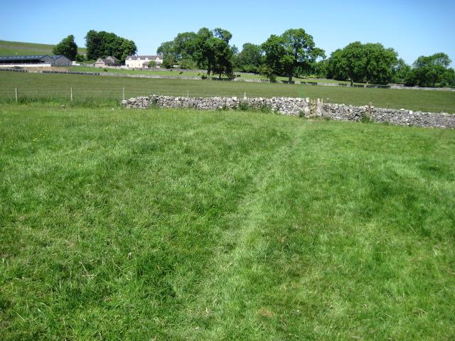 Footpath to Hollington End Farm