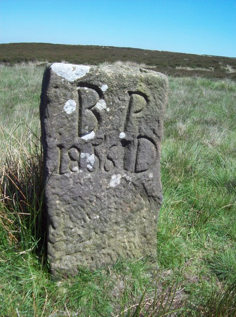 Dated Boundary Stone near Umberley Well