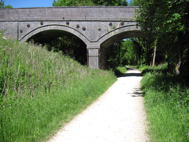Bridge over Tissington Trail at Highfield Farm