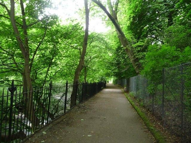 Water of Leith Walkway, near Dean Gardens
