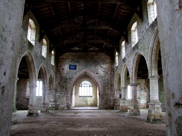 The Interior of the Church of St Botolph, Skidbrooke