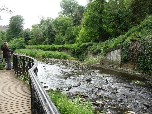 Water of Leith, near St Bernard's Well