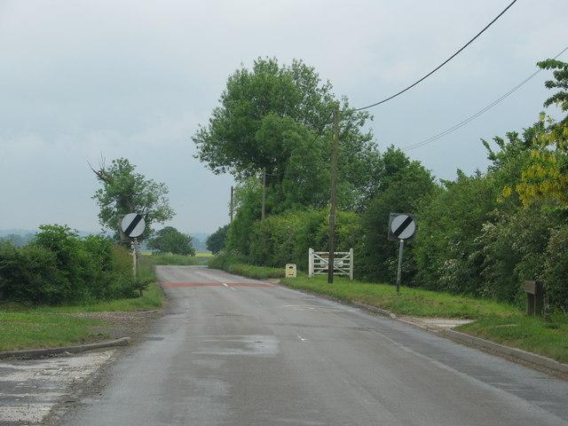 Road leaving Oakley