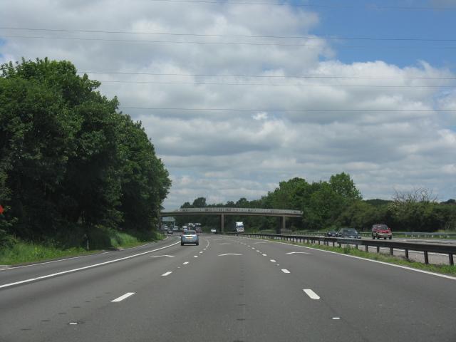 M6 motorway near Blakelow