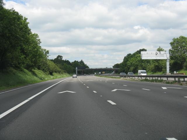 M6 motorway north of Blakelow
