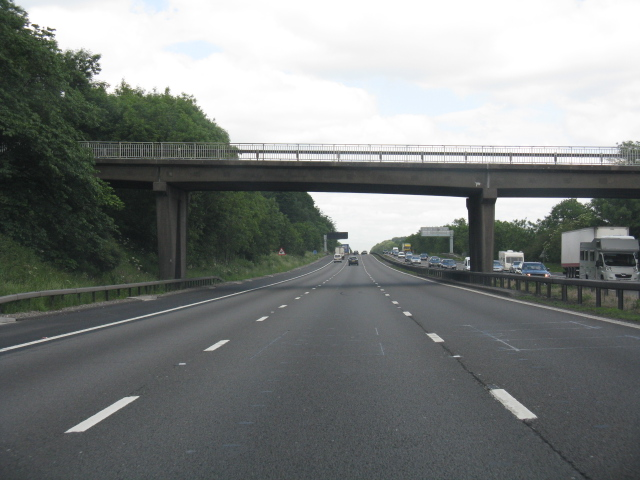 M6 motorway - Beech Bridge