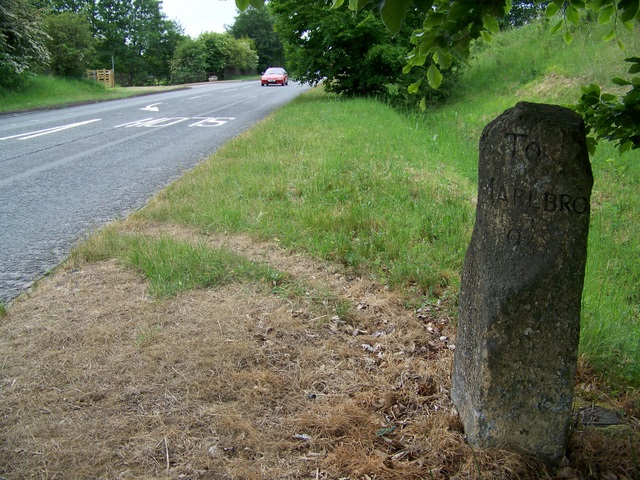 Milestone near Hungerford