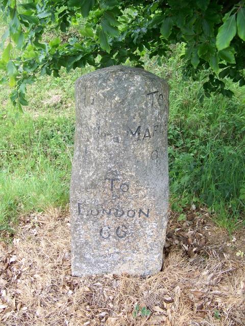 Milestone near Hungerford