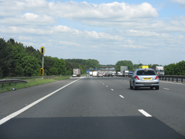 M6 motorway at junction 16