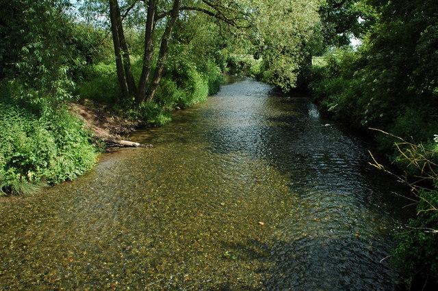 River Arrow, Coughton
