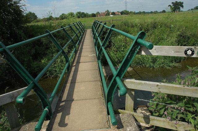 Footbridge over the River Arrow