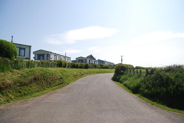 Lane by seaview Caravan Park