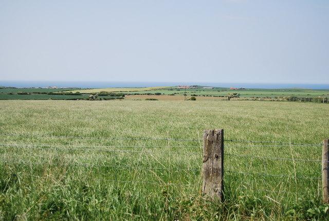 Farmland by the old railway