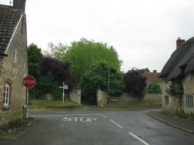 Road Junction in Great Haseley